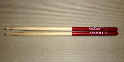 Classic 5A Ruby-Red and Natural